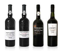 Vintage Port - Croft 2009, Taylors 2009, Fonseca 2009 and Vargellas 2009